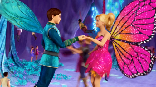 barbie mariposa & the fairy princess video music