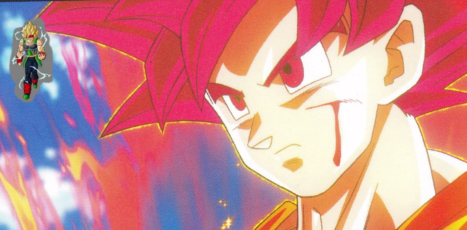 bardock and god Goku