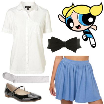 bubbles outfit