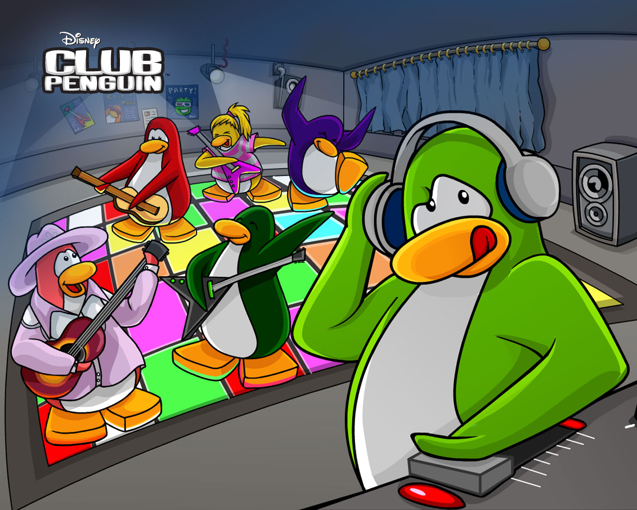 club penguin walk around meet new friends