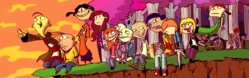 Ed, Edd and Eddy wallpaper with anime entitled ed edd n eddy