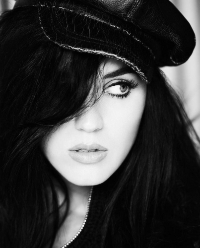 katy perry wallpaper probably containing a fedora entitled elle
