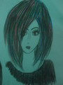 emo drawing - drawing photo
