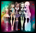 fashoinistas  - monster-high fan art