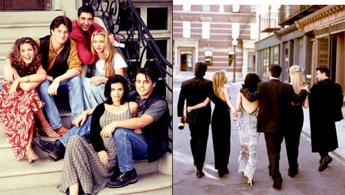 friends beginning and the end