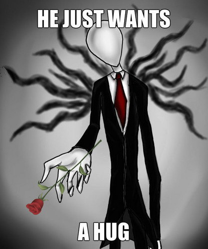 The Slender Man wallpaper called funny guy