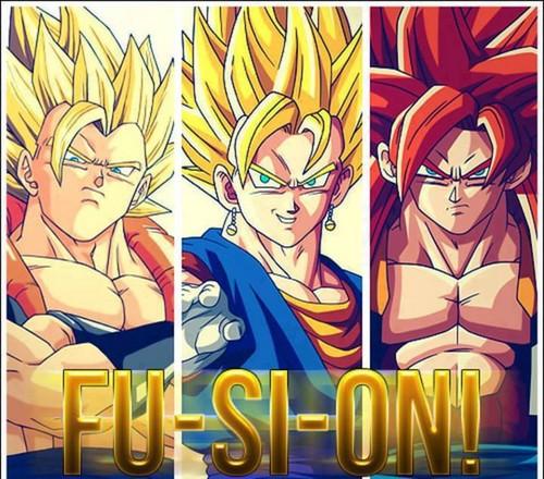 tập hợp phim Bảy viên ngọc rồng hình nền possibly containing anime called  fusion