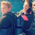 gemma and dom behind the scenes - mako-mermaids photo