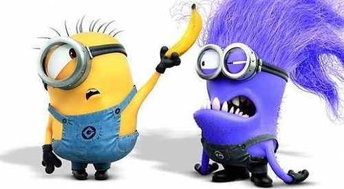 godd minion and bad minion