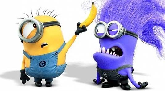 godd minion and bad minion