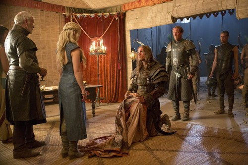 Barristan, Dany, Daario, Jorah & Grey Worm
