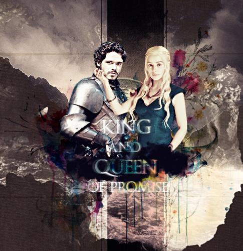 Daenerys Targaryen & Robb Stark