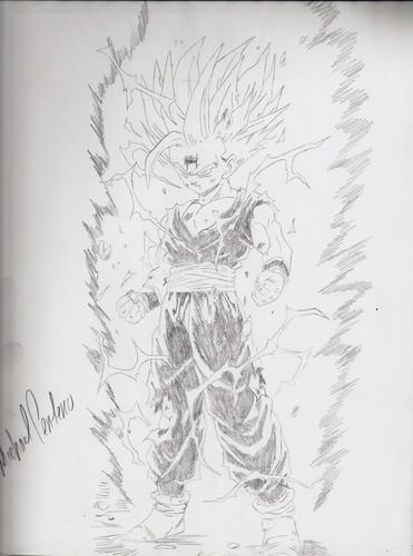 Anime Drawing Hintergrund entitled guko