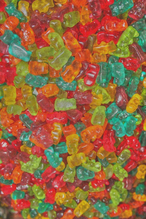 Gummy Bears Candy for Pinterest