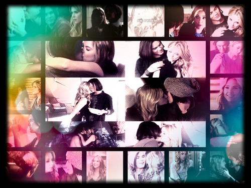 Hanna & Caleb wallpaper possibly with a stained glass window entitled haleb