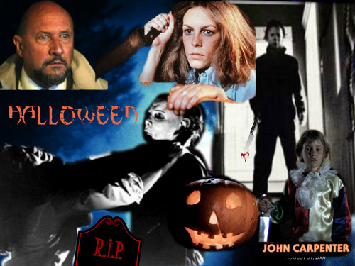 Halloween movie collage