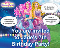 invitation - barbie-the-princess-and-the-popstar fan art