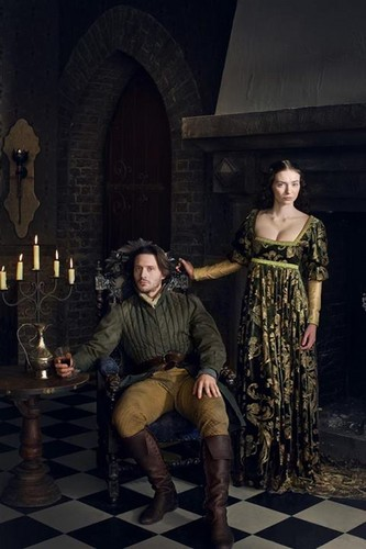 isabel and george - the-white-queen-bbc Photo
