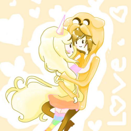 jake and lady rainicorn
