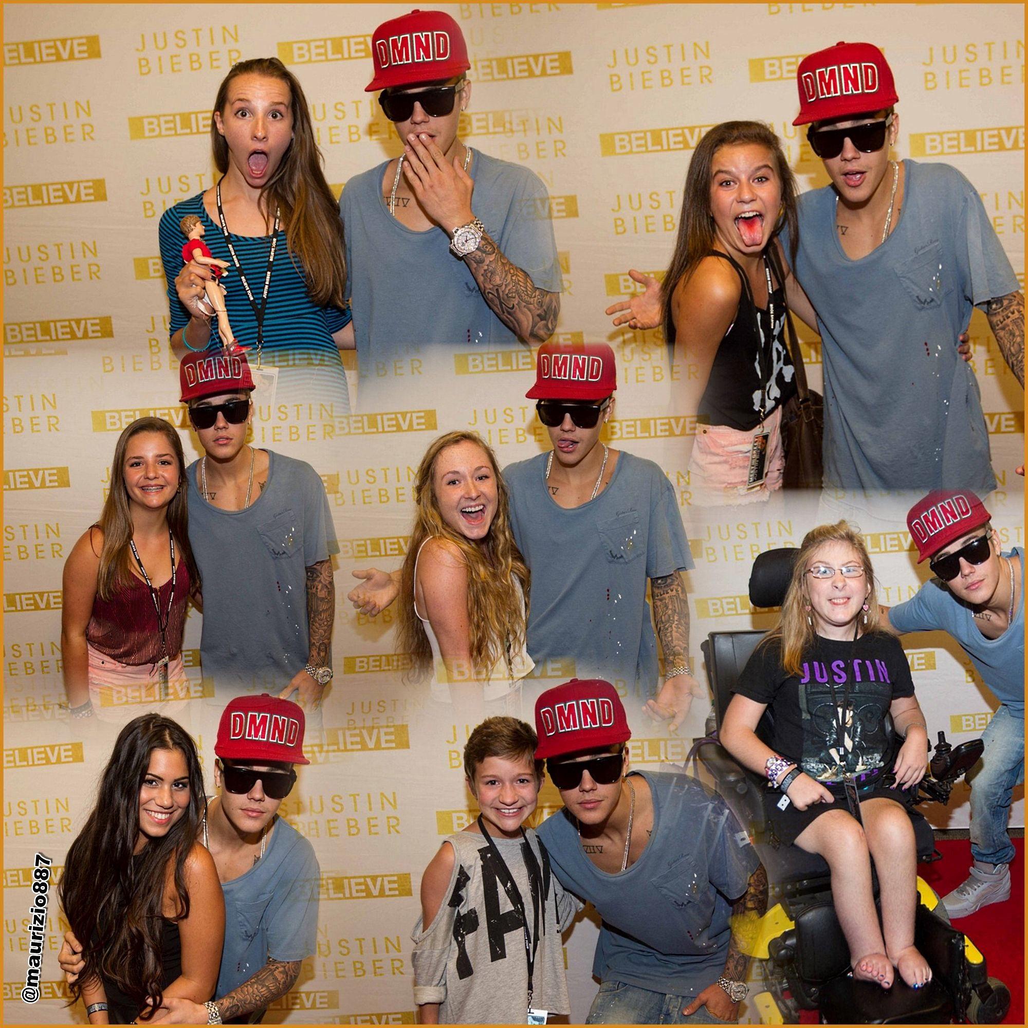 Meet And Greet Pictures Justin Bieber Justin Bieber Meet Greet