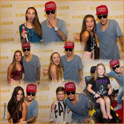 justin bieber meet & greet Jacksonville (7 August-2013)