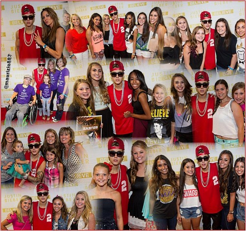 justin bieber meet & greet washington,DC,(3 August-2013)