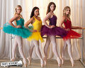 kat, abigail, tara & grace - dance-academy wallpaper
