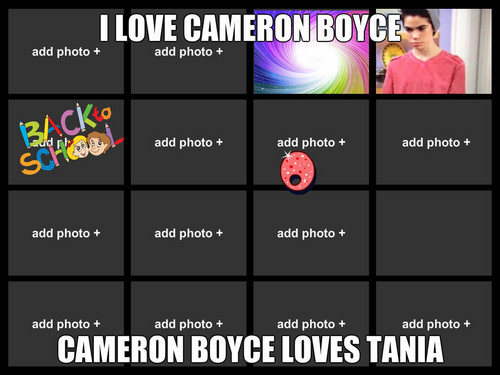me and cameron boyce