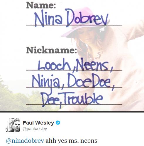 Paul Wesley and Nina Dobrev wallpaper called neens <3