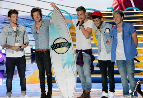 one direction Teen Choice Awards 2013