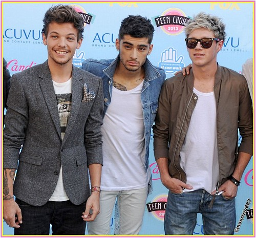 One Direction wallpaper probably with a business suit, a carriageway, and a well dressed person entitled one direction Teen Choice Awards 2013