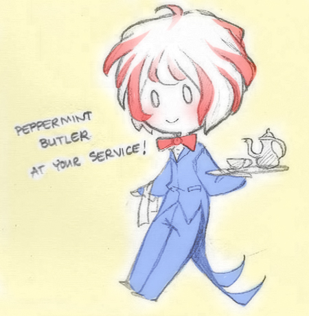 peppermint butler at your service
