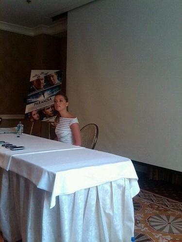 press conference Paranoia