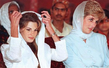 princess diana and Jemima Khan