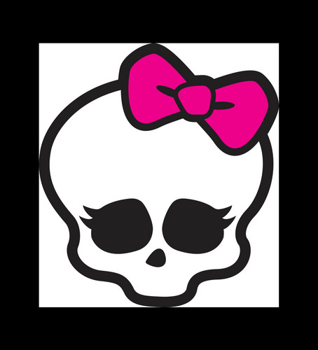 Monster High achtergrond called skull