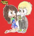 so cute - austin-and-ally fan art