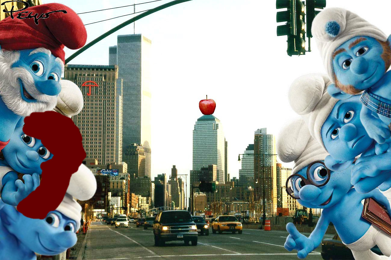 the smurfs 2 movie images the smurfs and lela hd wallpaper and