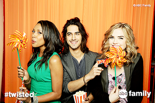 twisted cast
