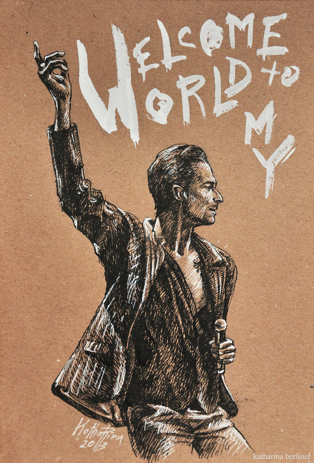 Welcome To My World Depeche Mode प रश सक Art 35240923 फ न प प
