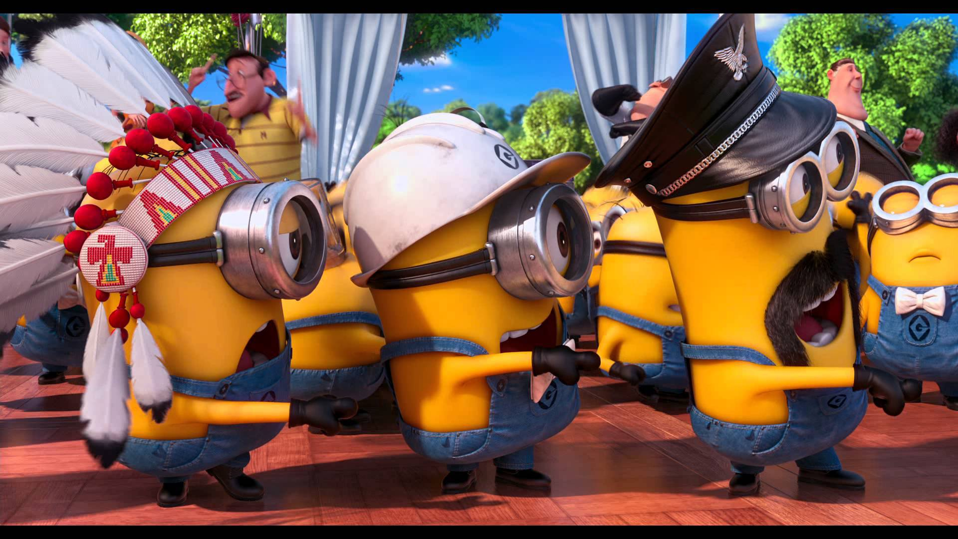 Despicable me minions ymca