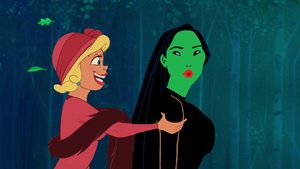 """""""Elphie, now that we're friends, I've decided to make tu my new project!"""""""