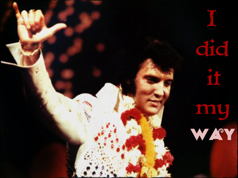 ★ Elvis ~ 36 years without the King August 2013 ☆