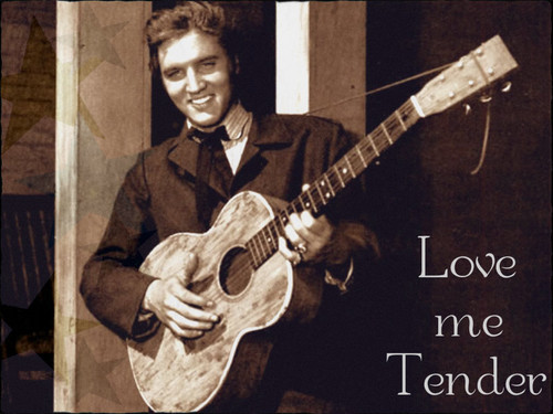 ★ Elvis in Love Me Tender ☆