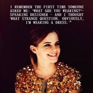 ~♥ Emma Watson Quotes♥~