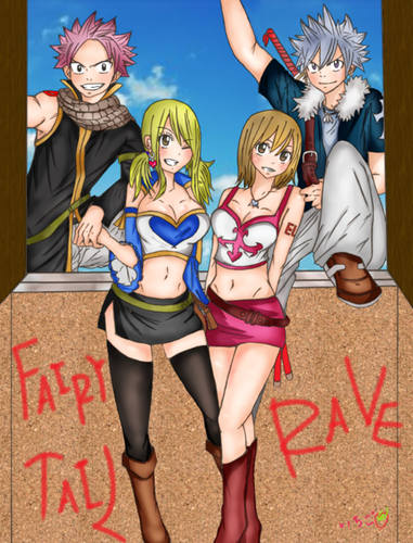ღ•*Fairy Tail x Rave master♥(Ova 6)