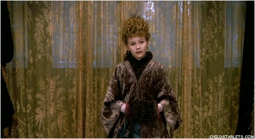 """Kirsten Dunst wallpaper probably with a fur coat entitled """"Interview with the Vampire"""" - 1994"""