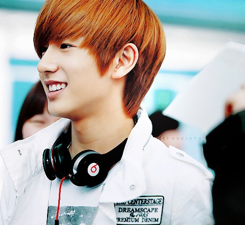 Boyfriend wallpaper probably containing dress blues called ★ღ♦Minwoo♦ღ★
