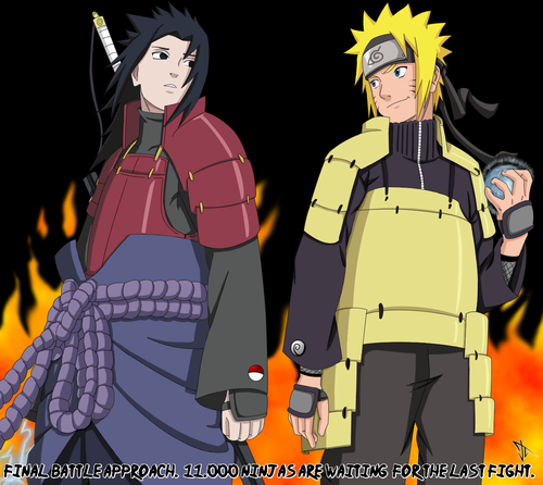 Naruto Shippuuden wallpaper with anime entitled *Sasuke Vs Naruto *