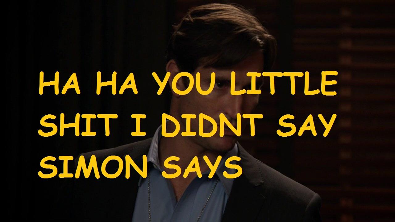 Simon says teen