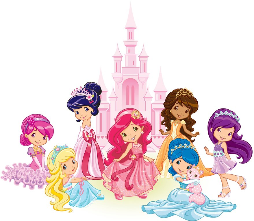Strawberry Princesses - Strawberry Shortcake Photo ...